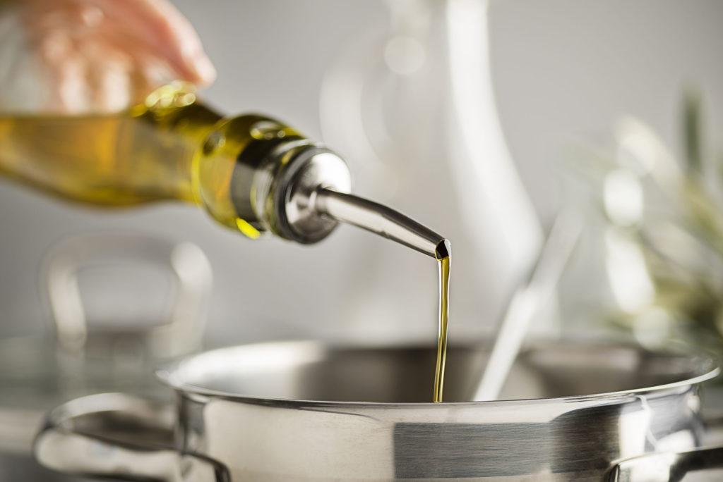 Confieren mit Öl