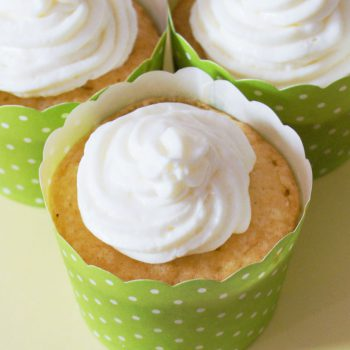 Zitronen-Cupcakes Rezept 1845 Walnussöl